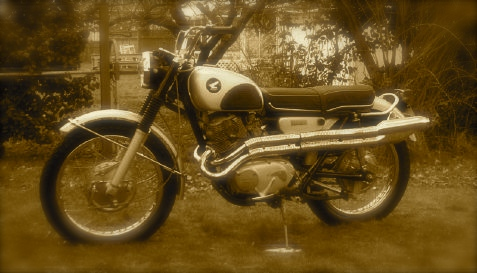 Honda 305 scrambler 1965b-1